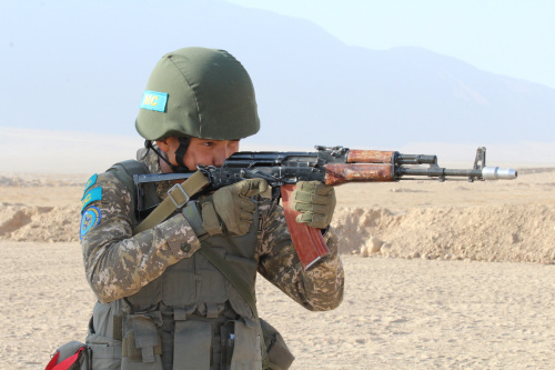 "The second stage of the joint training ""Indestructible Brotherhood-2019"" joint exercise was launched in Tajikistan at the Harb-Maidon training ground, 20 kilometers from the Afghan border. The CSTO CPF Commander Reported Peacekeeping Operation Plan"