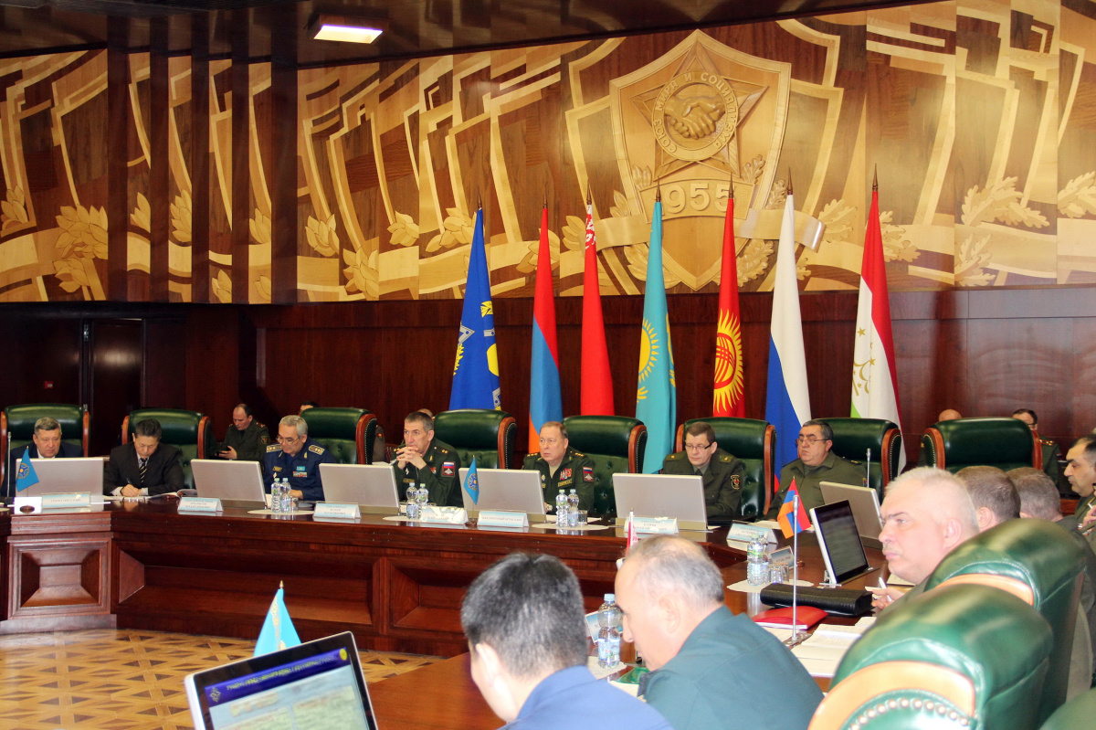 The first staff talks on the preparation of joint exercises in 2019 were held at the CSTO Joint Headquarters