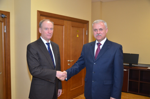 The CSTO Secretary General Stanislav Zas met in Moscow with Secretary of the Security Council of Russia Nikolai Patrushev