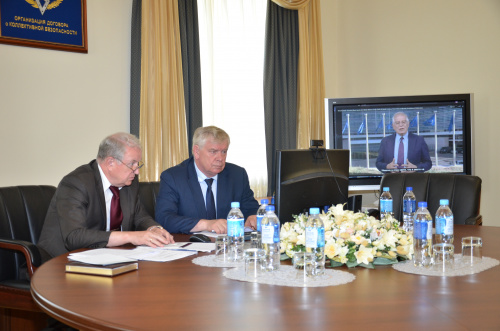 The delegation of the Secretariat of the Collective Security Treaty Organization, headed by the CSTO Deputy Secretary General Valery Semerikov, takes part in the events of the UN Online Week of Fight against Terrorism