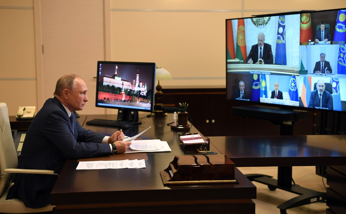 On December 2, 2020, for the first time, a session of the CSTO Collective Security Council was held by videoconference