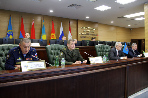 For the first time, a gathering of representatives of the defense departments of the Organization's member states authorized to interact with the Crisis Response Center was held at the CSTO Joint Staff