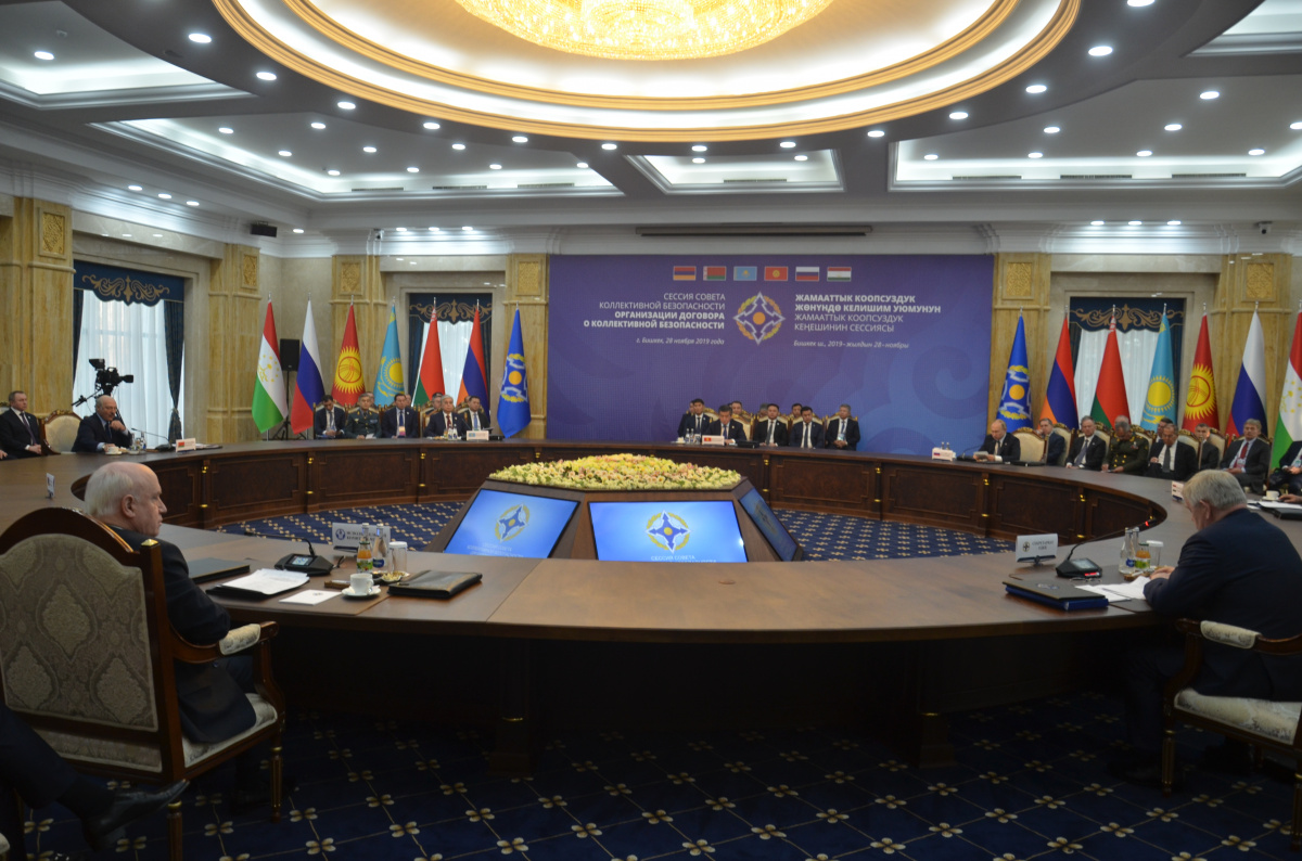 The CSTO Collective Security Council in Bishkek at its November 28 session adopted a Statement on interaction and cooperation to strengthen international and regional security, approved the UN Global Counter-Terrorism Strategy Implementation Plan