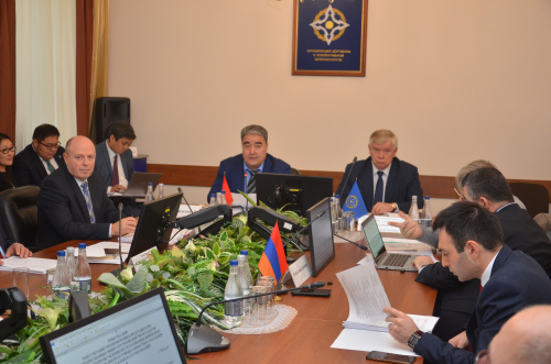 The CSTO Secretariat held consultations on the agendas of the upcoming session of the Collective Security Council and meetings of the CMFA, CMD and CSSC