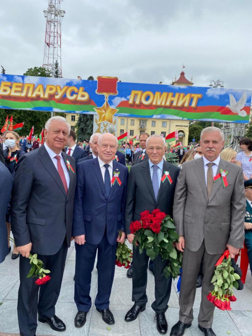 The CSTO Secretary General Stanislav Zas took part in celebrations in Minsk on the occasion of the Independence Day of the Republic of Belarus