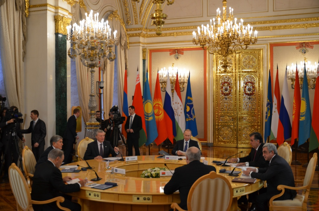 The heads of state of the CSTO member states at the session of the Collective Security Council on December 21, 2015 in Moscow discussed the main problems of international security and adopted a Statement on countering international terrorism