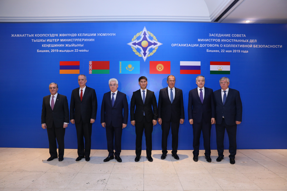 At a meeting in Bishkek the CSTO Council of Foreign Ministers approved a plan of collective action by the CSTO member states on implementing the UN Global Counter-Terrorism Strategy for 2019-2021 and adopted an open appeal to the NATO foreign ministers