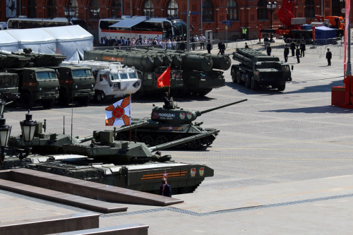 Parade units of the CSTO member states took part in the Victory Parade on Red Square