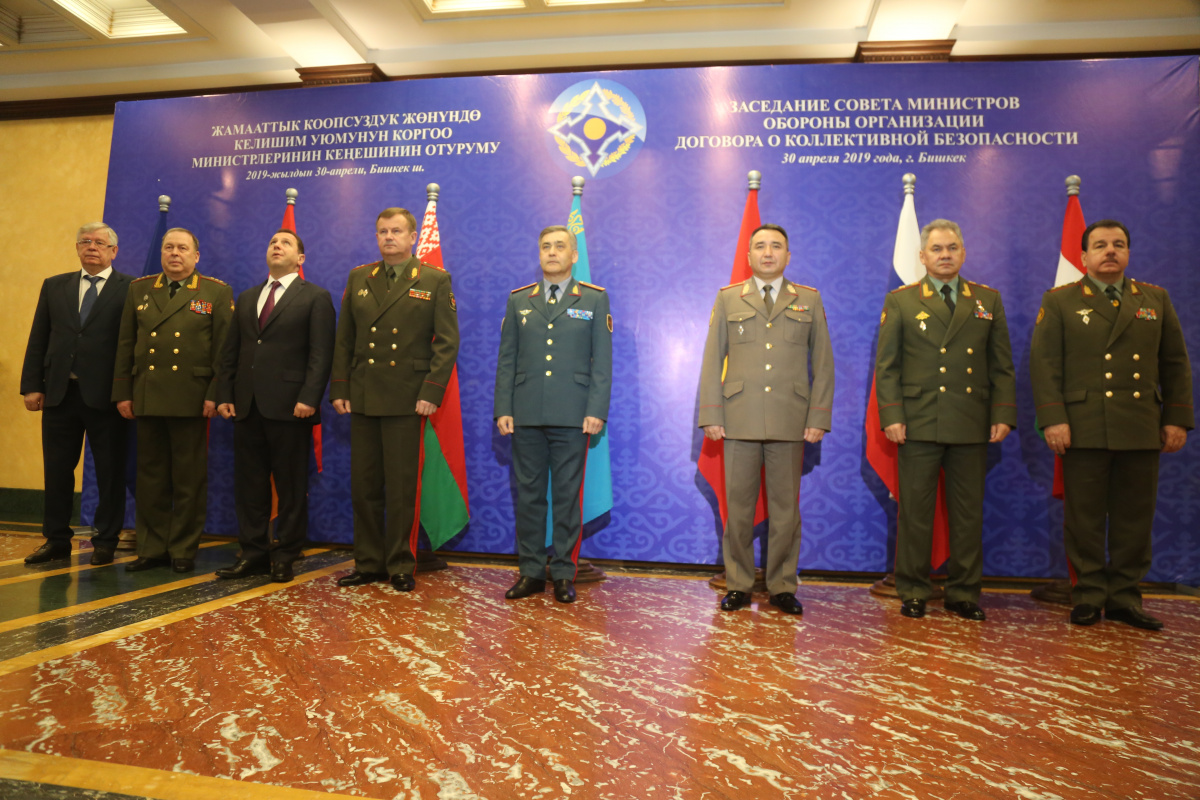 The CSTO Council of Defense Ministers at a meeting in Bishkek discussed the challenges and threats to military security in the Central Asian region and approved a List of additional measures aimed at reducing tensions in the Tajik-Afghan border