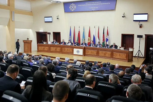 On November 5, 2019, the XII plenary session of the Parliamentary Assembly of the Collective Security Treaty Organization was held in Yerevan