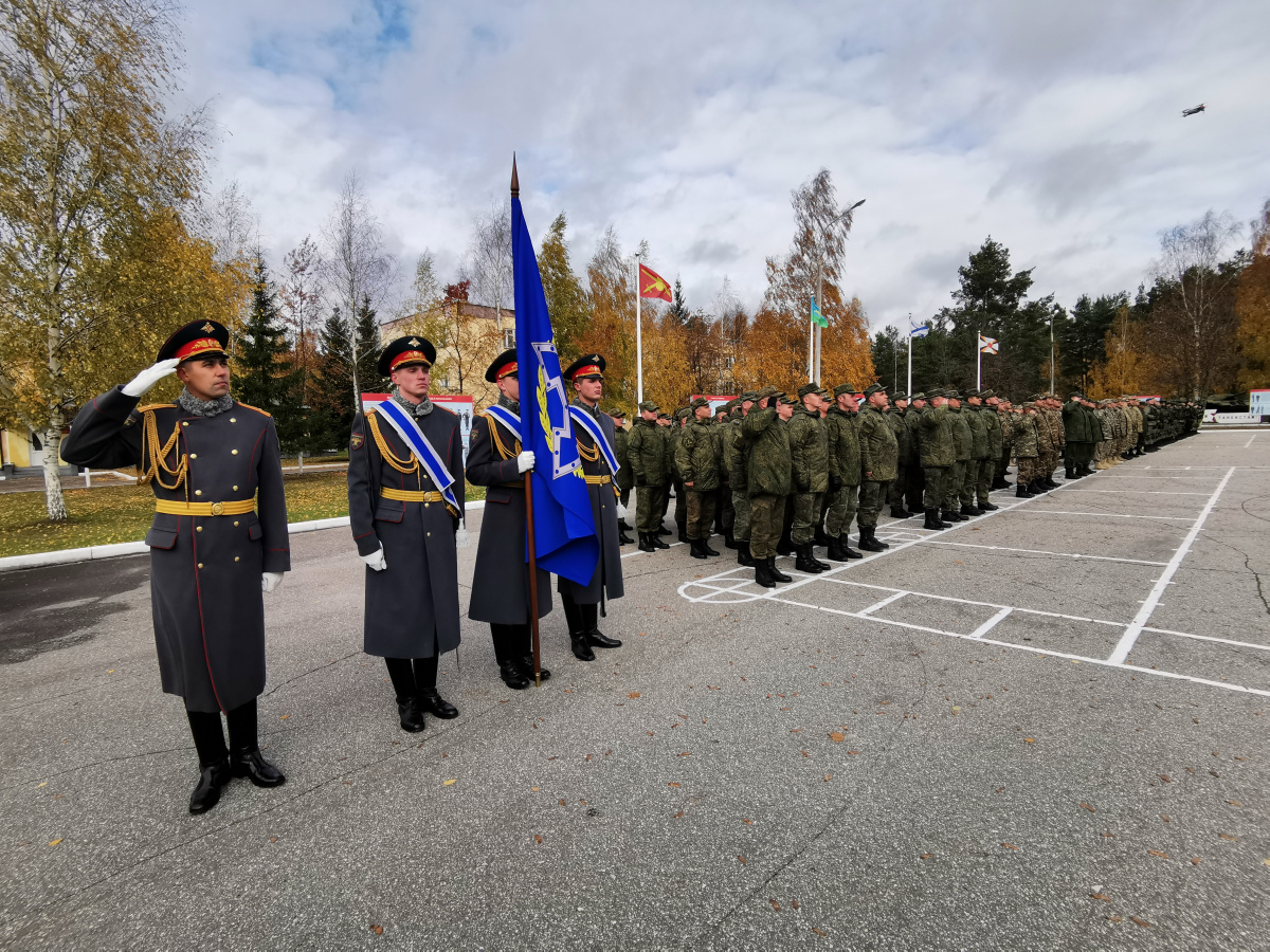 "In the Nizhny Novgorod region of Russia, a special training ""Echelon-2019"" with the forces and means of material and technical support of the CSTO member states began"