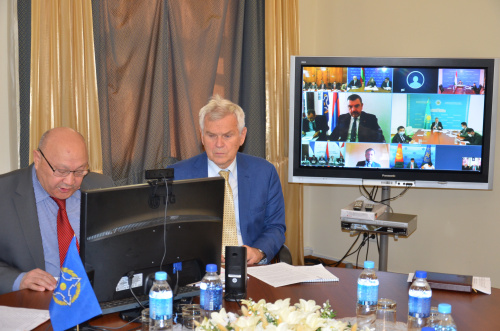 Consultations of representatives of the CSTO member states were held on the agenda of the 75th session of the UN General Assembly in the format of a videoconferencing