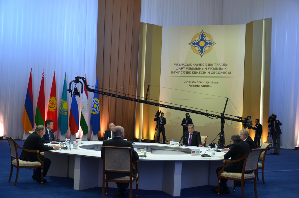 On November 8, a session of the CSTO Collective Security Council was held in Astana and a joint meeting of the CFM, the CMD and the CSSC of the CSTO was held