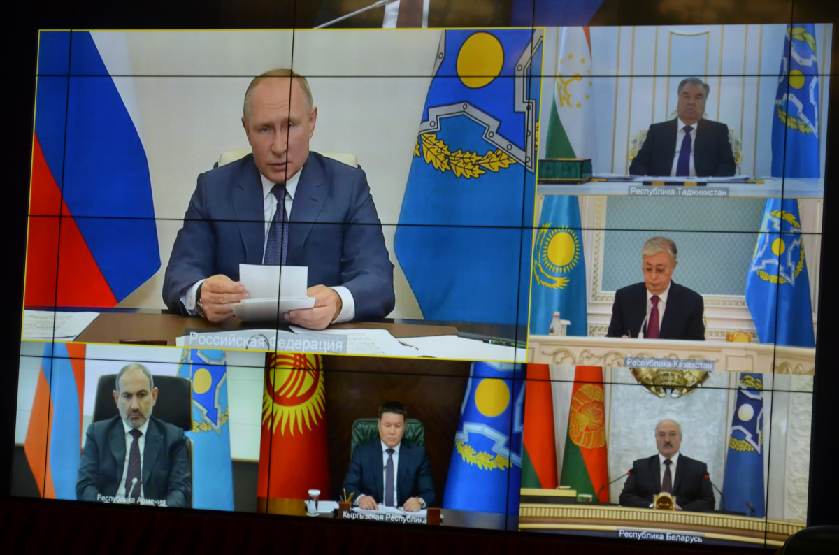 The CSTO Collective Security Council adopted the Declaration and Statement on the Formation of a Just and Sustainable World Order