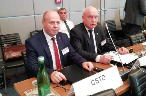 The CSTO Deputy Secretary General Petr Tikhonovsky took part in the OSCE Annual Security Review Conference, which was held in Vienna from June 25-27