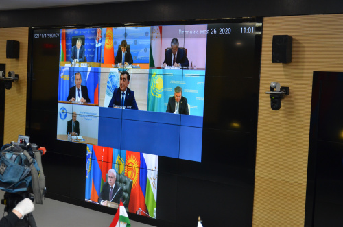 On May 26, the CSTO Council of Foreign Ministers in a video conference discussed prospects for the development of international and regional security