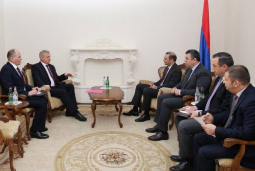 The CSTO Secretary General meets with Secretary of the Security Council of Armenia